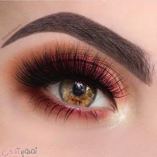 آرایش صورت  , آرایش چشم 2017 | میکاپ چشم حرفه ای | آرایش چشم عروس 2017