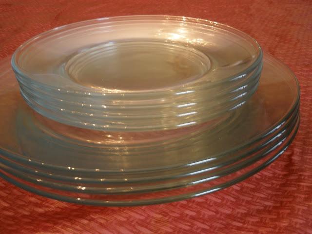 دکوپاژ ظروف,دکوپاژ بشقاب شیشه ای,دکوپاژ با پارچه