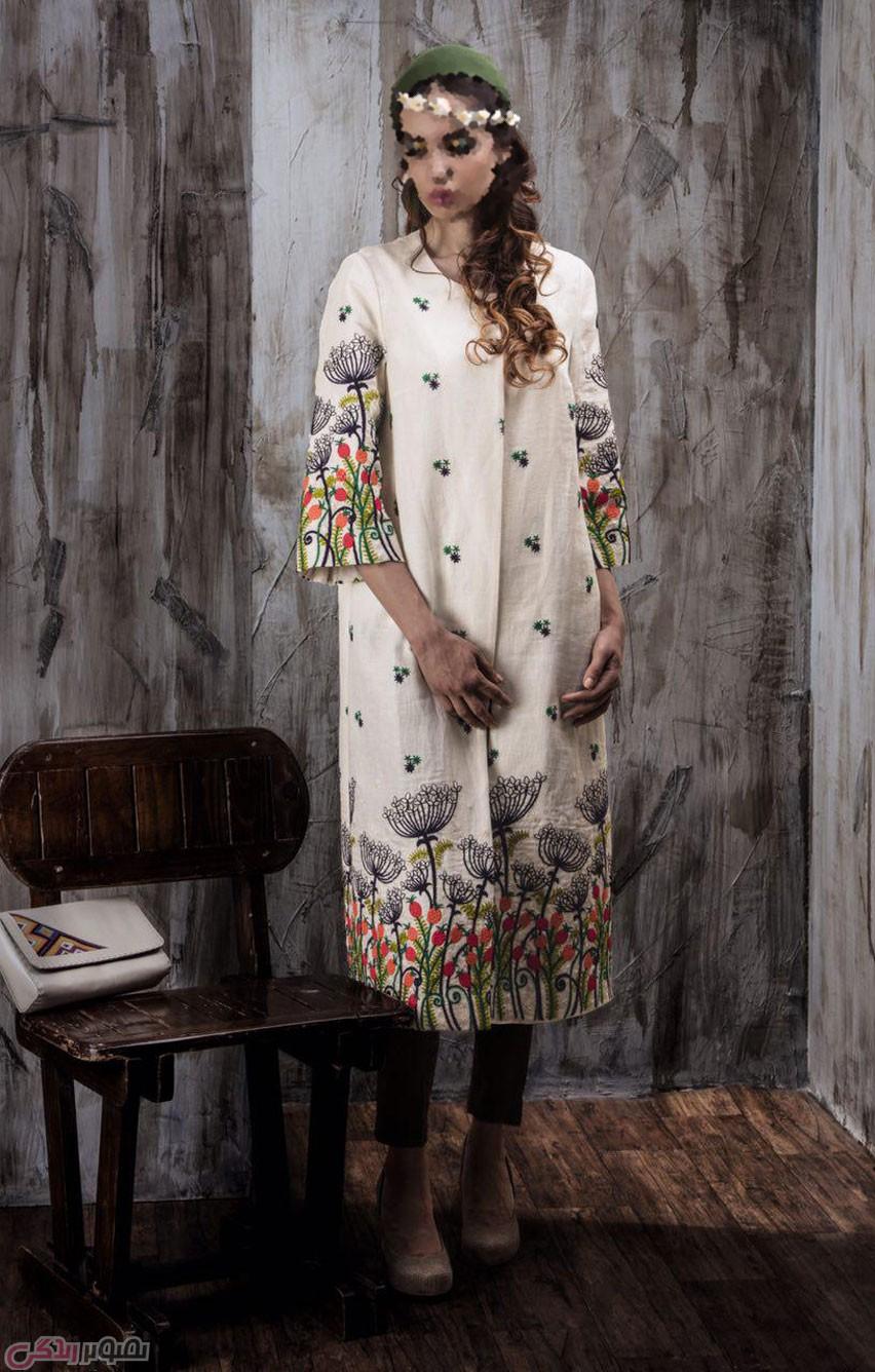 مدل مانتوهای زیبا, مانتو حاشیه دار