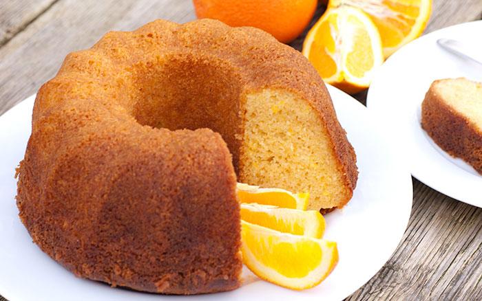 نان، شیرینی، دسر  , طرز تهیه کیک پرتقالی | کیک خانگی | کیک پف کرده و پنبه ای
