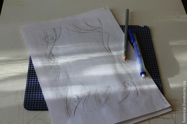 آموزش ویترای ,آموزش نقاشی روی شیشه, تزیین قاب عکس