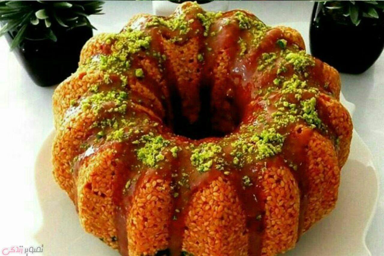 طرز تهیه کیک پسته