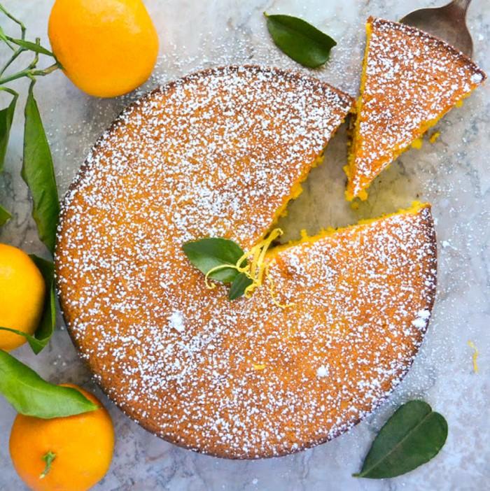 کیک نارنگی , کیک میوه ای