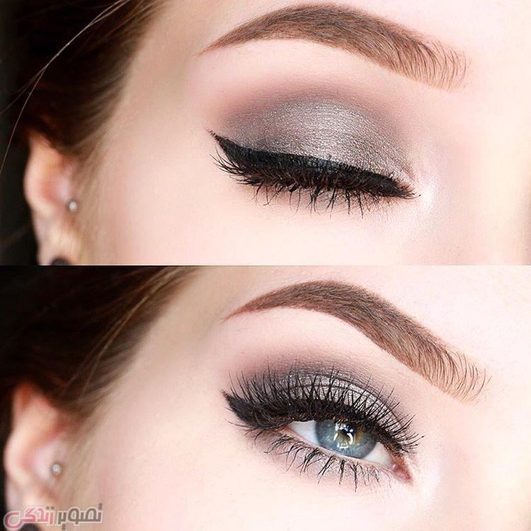 مدل ابرو, مدل آرایش چشم دخترانه , آرایش لایت