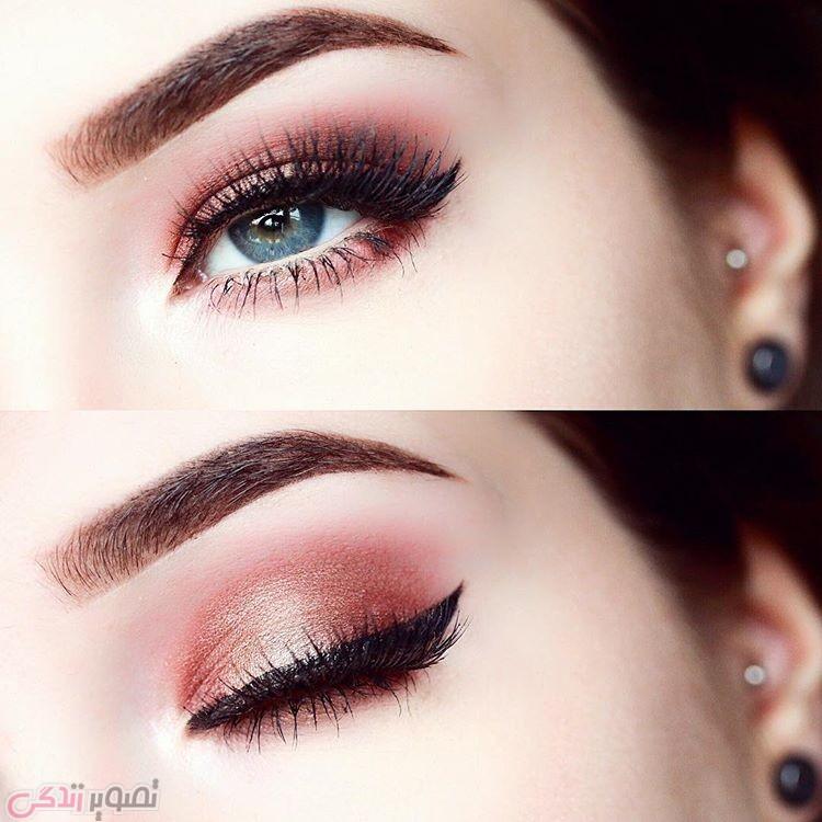 مدل ابرو, آرایش چشم دخترانه , آرایش لایت