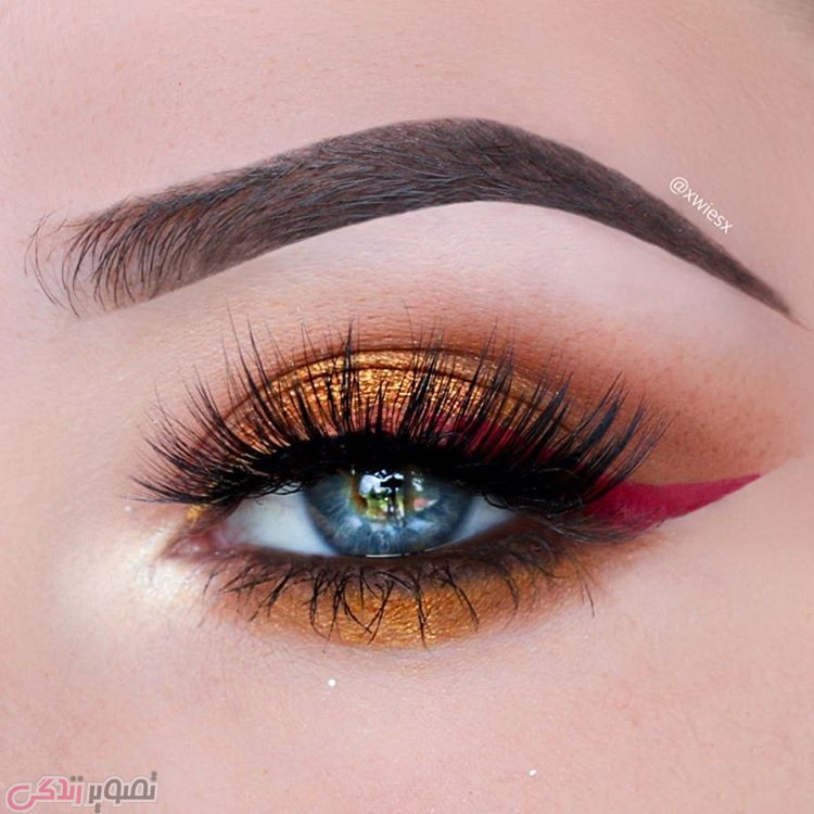 جدیدترین مدل های آرایش چشم, آرایش چشم دخترانه