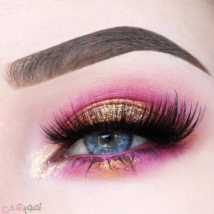 جدیدترین مدل های آرایش چشم, آرایش چشم عروس