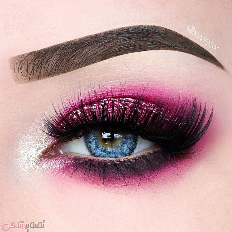 جدیدترین مدل های آرایش چشم, آرایش چشم مجلسی