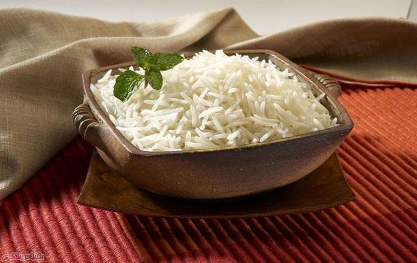 قد کشیدن برنج, پخت برنج ایرانی مجلسی,دم کردن برنج