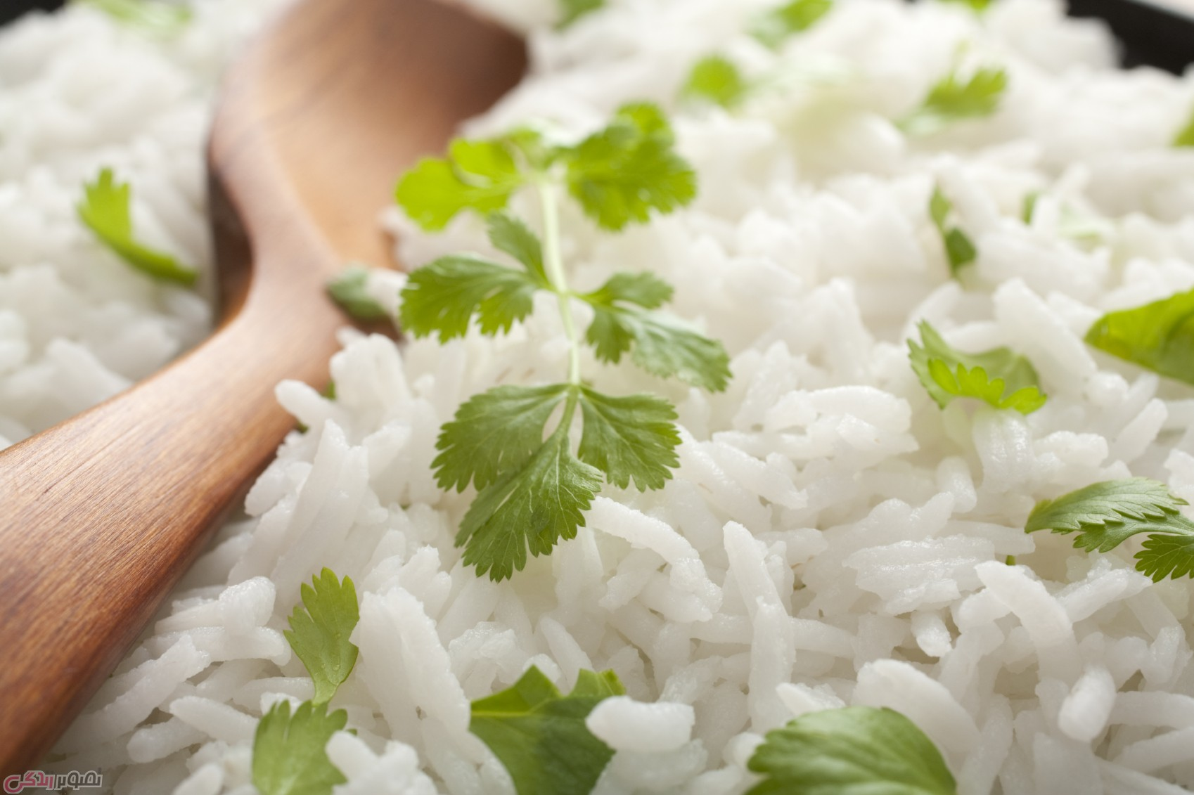 پخت برنج خیس نخورده