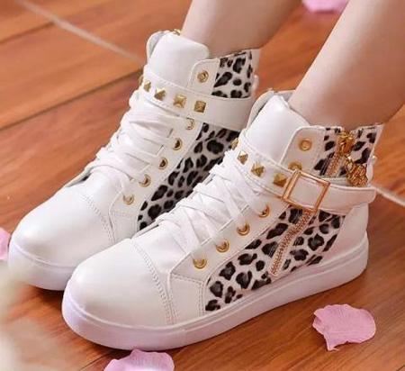 نمونه های مدل کفش اسپرت, مدل کفش دخترانه