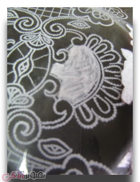آموزش نقاشی نما گیپور,تزیین ظرف بلور ,نقاشی نقطه ای,آموزش دکوپاژ
