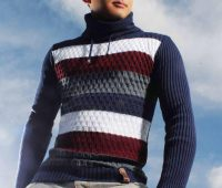مدل پلیور بافتنی مردانه جلو باز 2020 | عکس ژاکت بافتنی مردانه زمستانی
