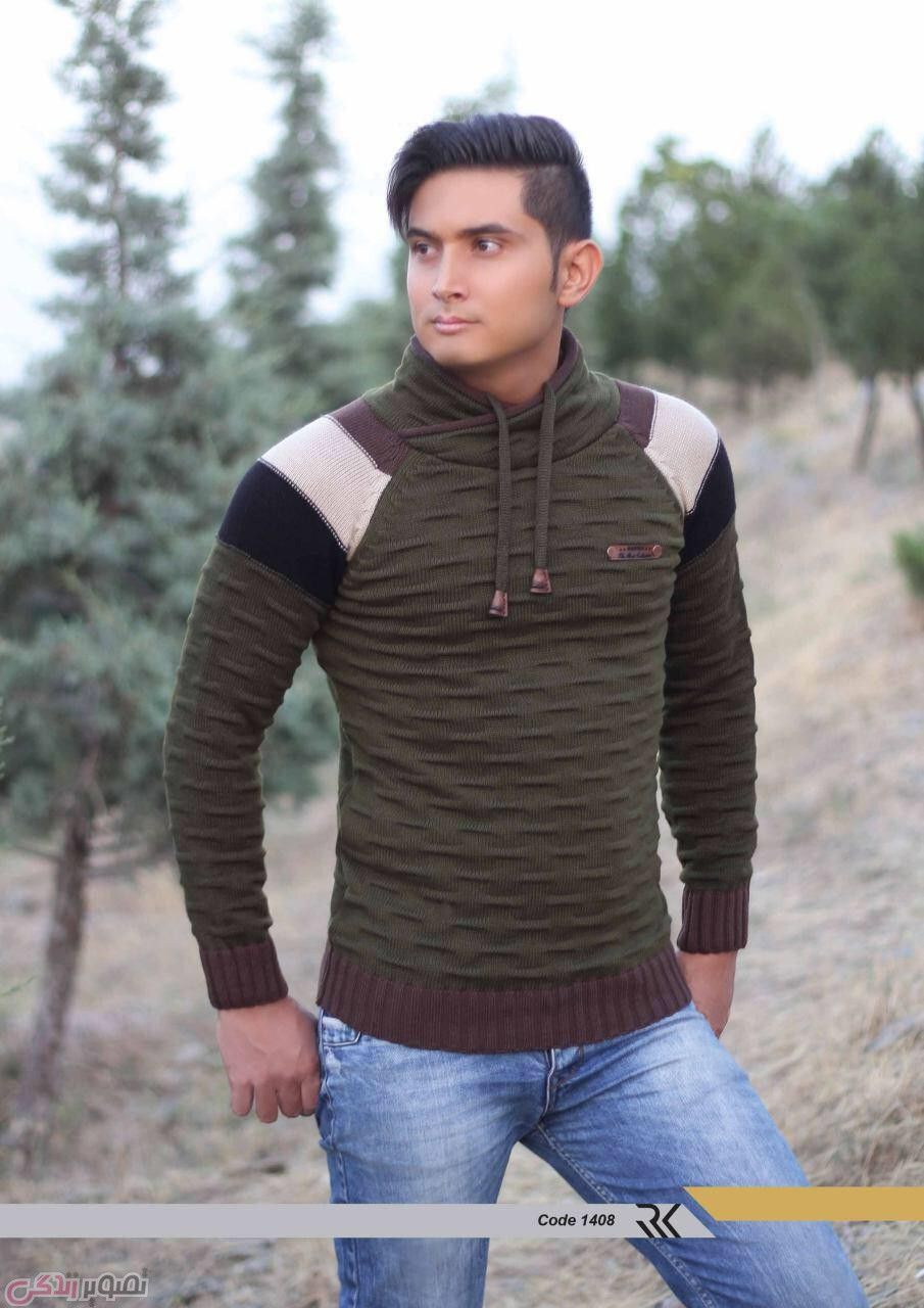 مدل پلیور بافتنی,لباس زمستانی مردانه,مدل بافت مردانه