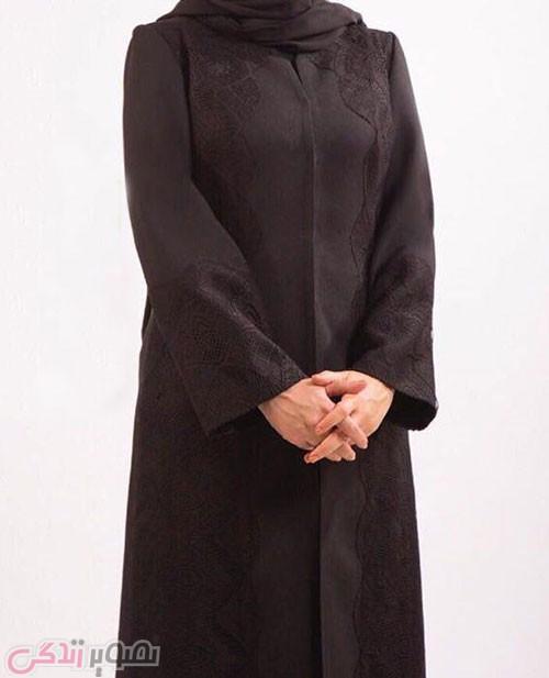 عکس مدل مانتو پاییزی,ماتنو مجلسی , مانتو بلند مشکی