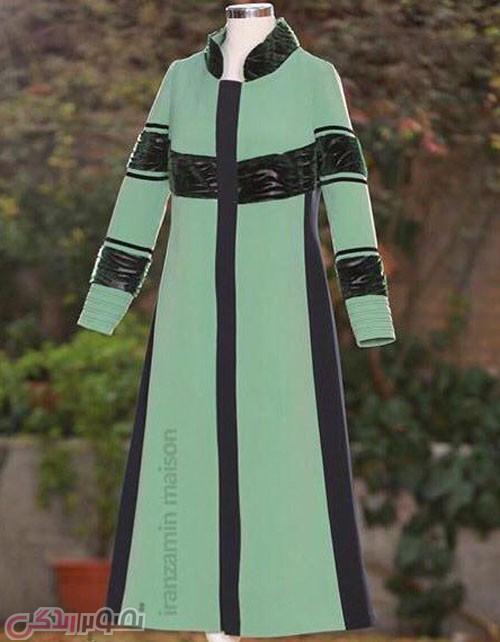 عکس مدل مانتو پاییزی,ماتنو مجلسی بلند, مانتو پاییزه