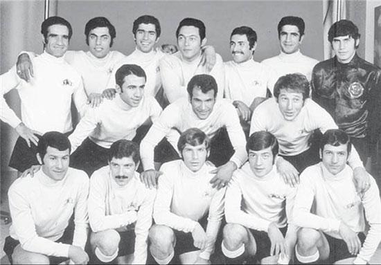 عکس قدیمی و فوتبالی از منصورپور حیدری