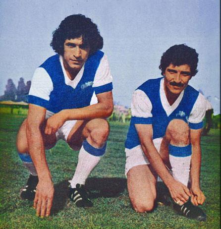 عکس قدیمی منصور پورحیدری در کنار اکبر کارگرجم