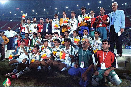 قهرمانی تیم ملی فوتبال ایران در بازیهای بانکوک با هدایت پورحیدری