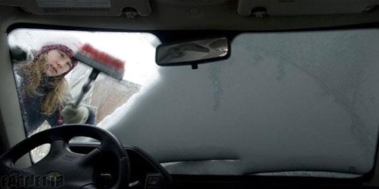 نتیجه تصویری برای در هوای سرد به چه روشهایی ماشین خود را گرم کنیم؟