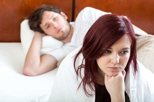 نتیجه تصویری برای عوارض نداشتن رابطه زناشویی زنان