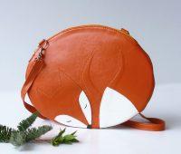 مدل کیف چرمی زنانه, مدل کیف فانتزی, کیف به شکل روباه