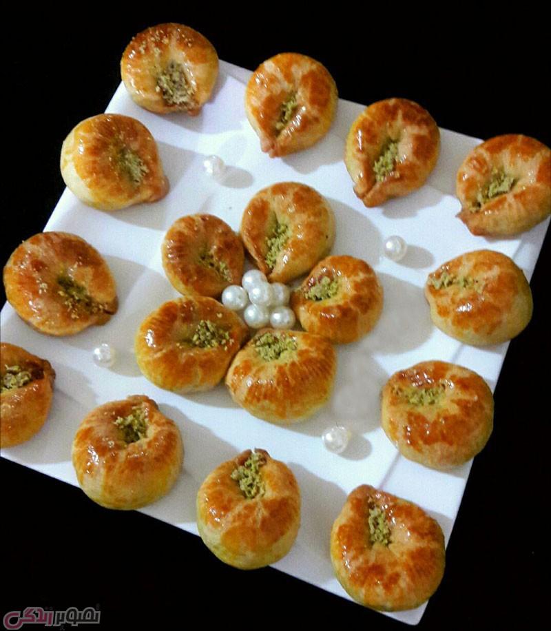 شیرینی تاتلی , شیرینی تاتلی شانه ای ترکیه