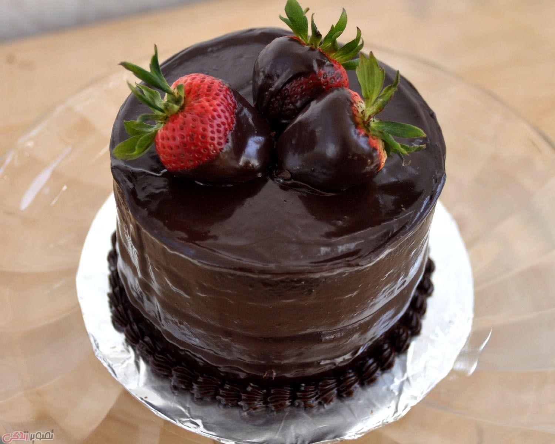 Chocolate Mocha Birthday Cake