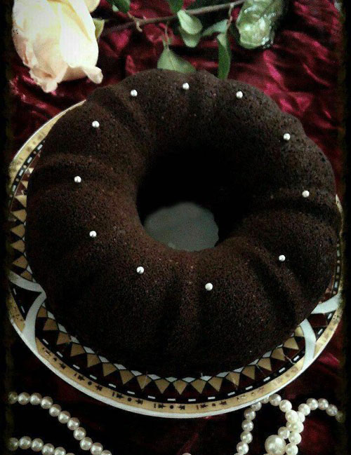 طرز تهیه کیک شکلاتی دبل چاکلت