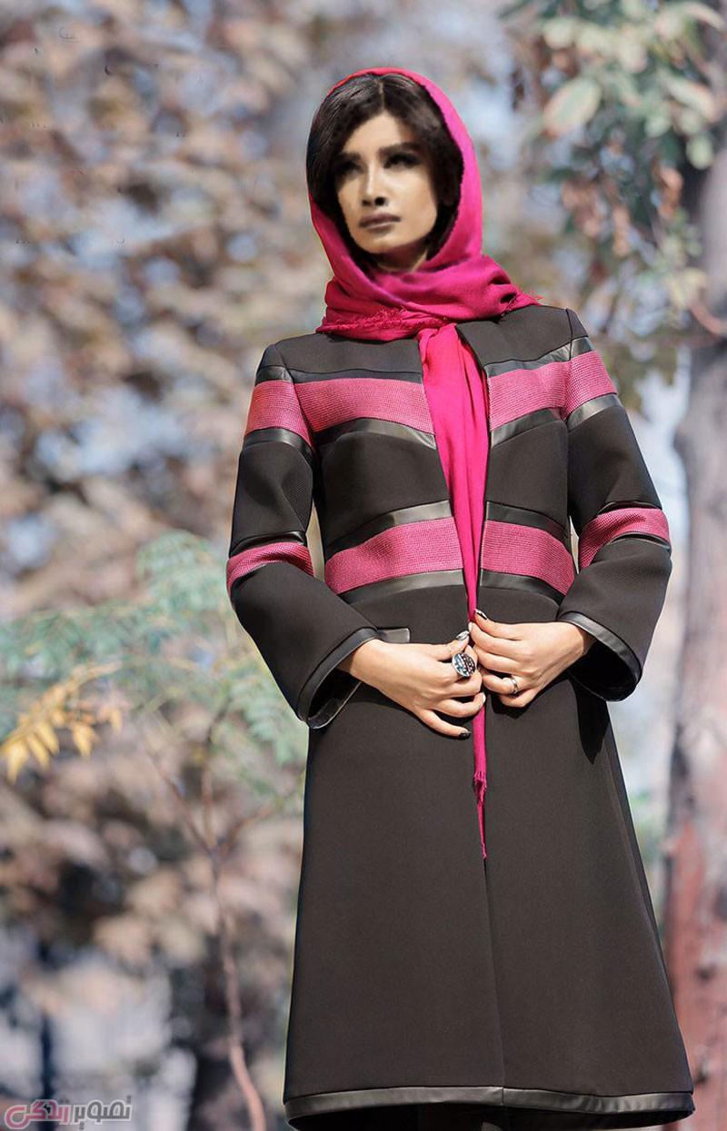 مدل مانتو  , مدل مانتو مجلسی پاییزه مزون ایرانی سویت دلچه | مانتو پاییزی جدید