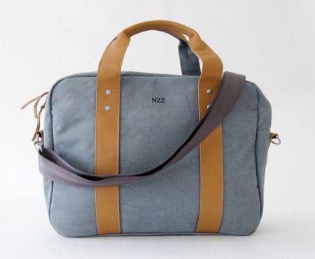 مدل کیف دخترانه اسپرت به رنگ طوسی و قهوه ای