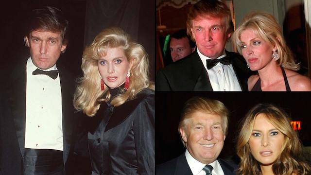 بیوگرافی ترامپ, عکس ترامپ و همسرش