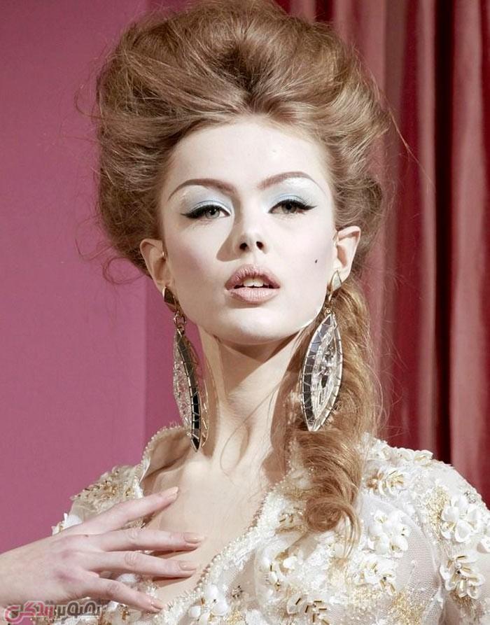 مدل موی شینیون, شینیون موی باز و بسته , شینیون جدید