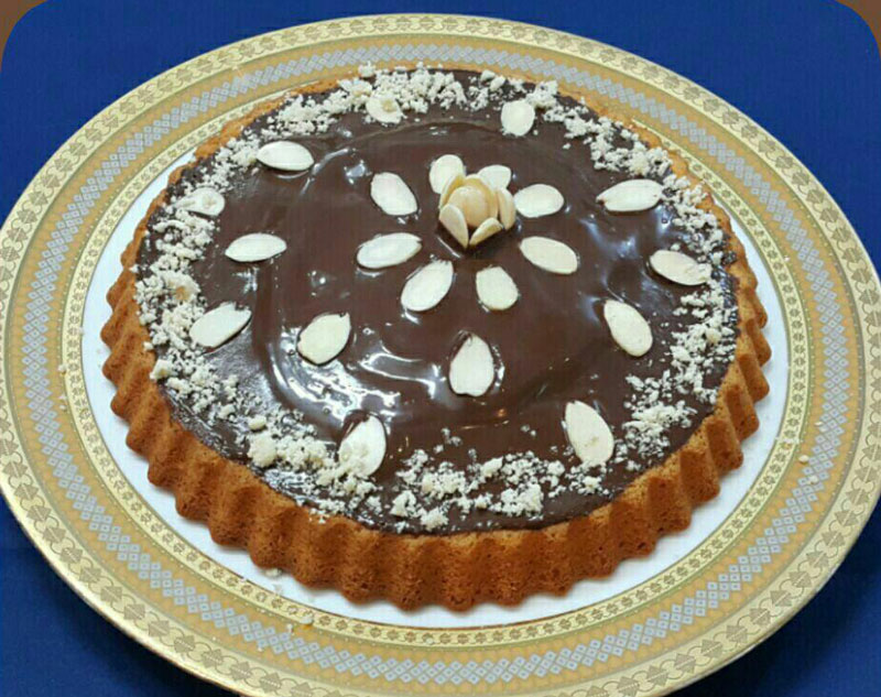 طرز تهیه کیک بادامی