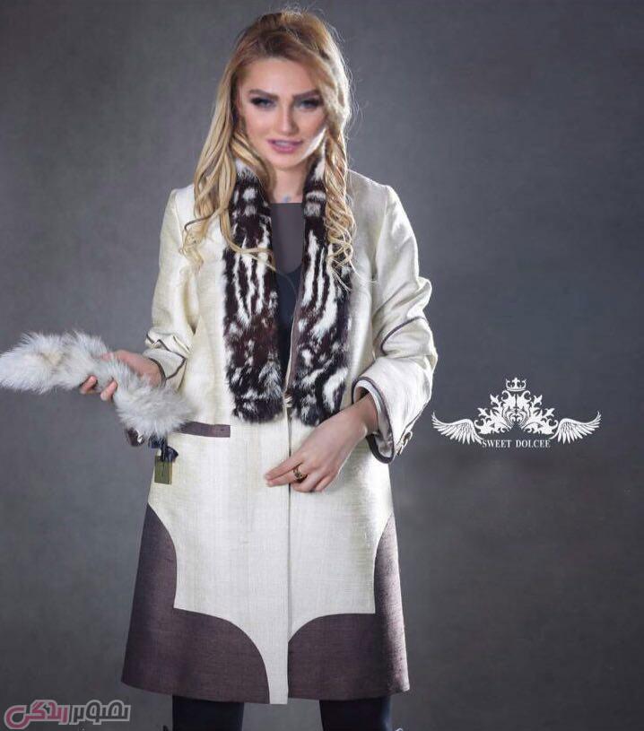 مدل مانتو مجلسی دخترانه پاییزی
