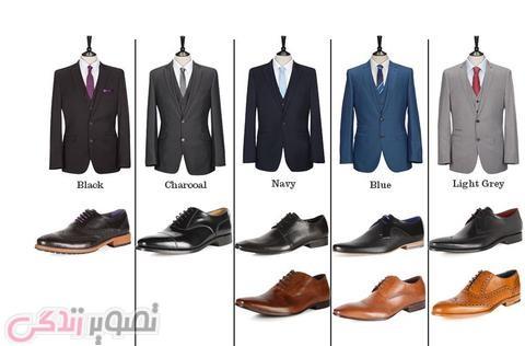 راهنمای انتخاب کفش برای کت و شلوار