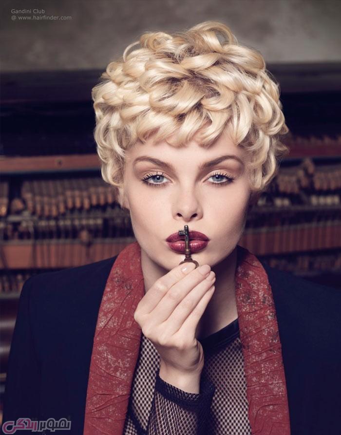 مدل موی کوتاه زنانه , هرکات , موی کلاسیک