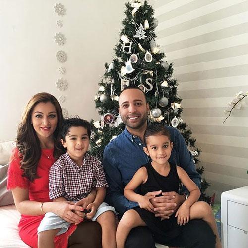 بیوگرافی آرش , عکس خانواده آرش , عکس همسر آرش