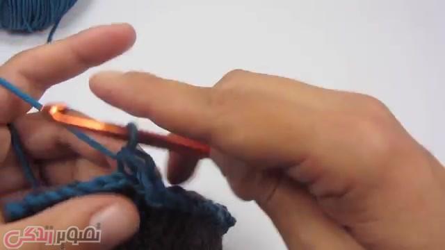 آموزش تصویری بافت کلاه مردانه با قلاب