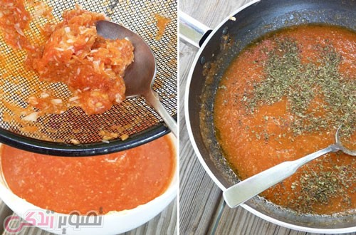طرز تهیه سس گوجه فرنگی ایتالیایی