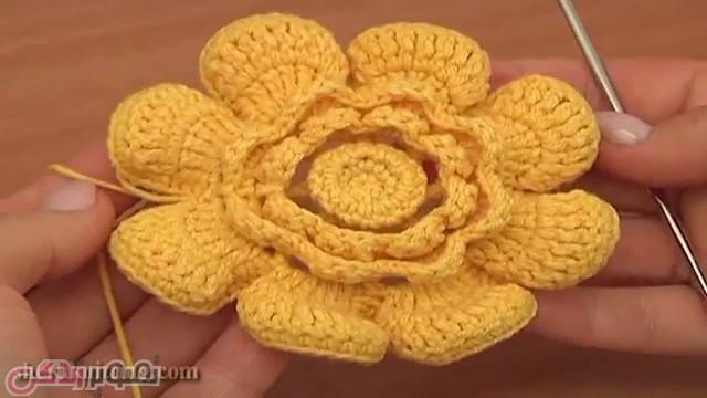گل برجسته قلاب بافی ایرلندی آموزش بافت گل برجسته قلاب بافی ایرلندی mimplus.ir