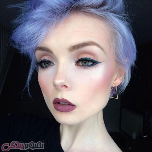 آرایش صورت دخترانه مجلسی