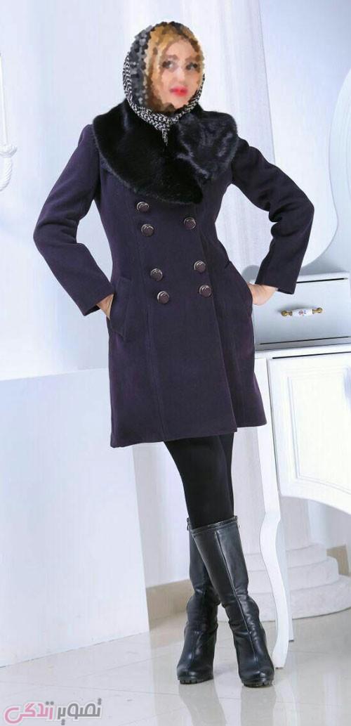 مدل جدید پالتو دخترانه , مدل پالتو مجلسی شیک