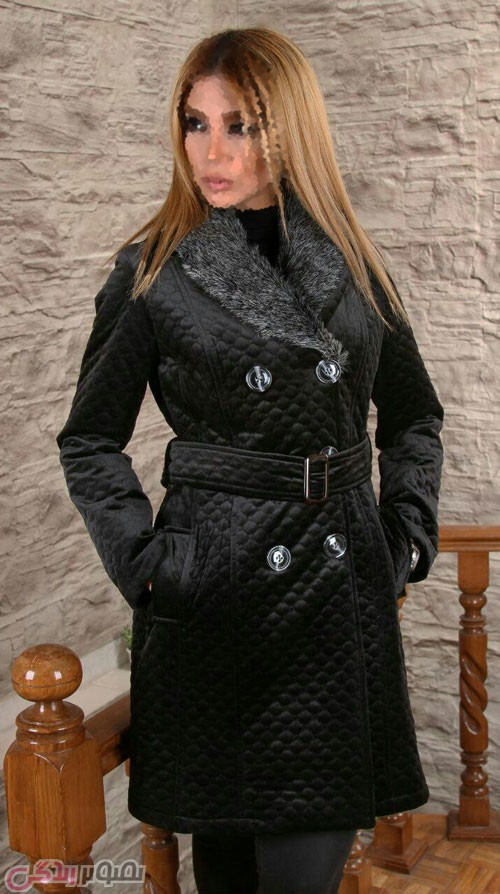 مدل پالتو مانتو زمستانی , مدل پالتو دخترانه یقه خز دار