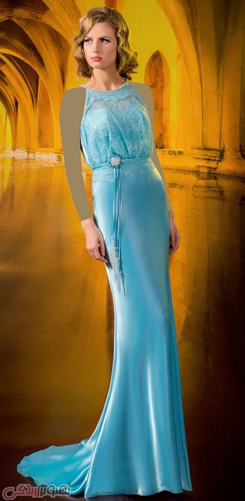 مدل لباس مجلسی بلند , مدل لباس شب حریر