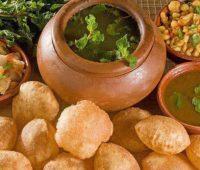 طرز تهیه نان پوری هندی