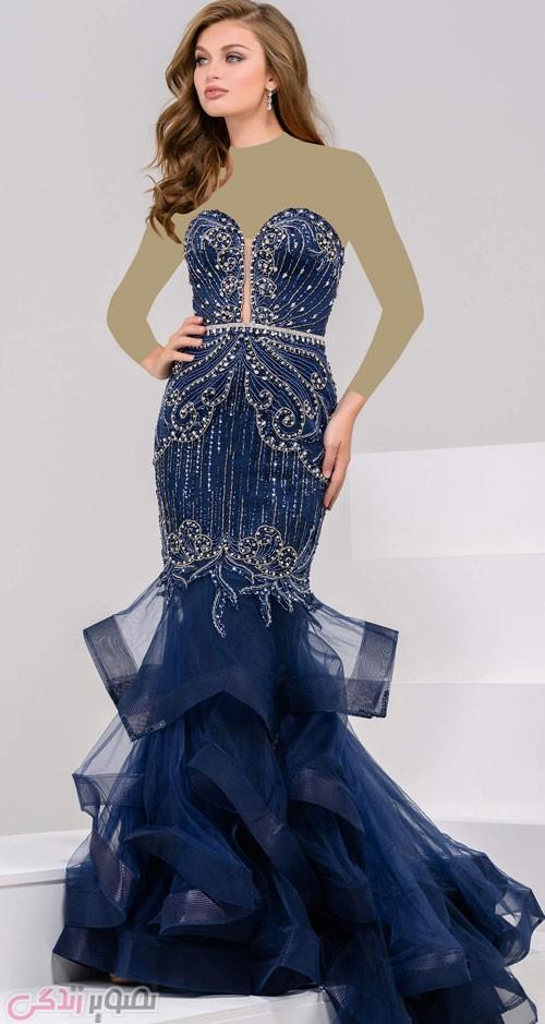 مدل لباس شب دکلته, مدل لباس مجلسی بدون بند