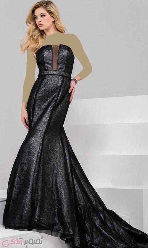 مدل لباس شب دکلته, مدل لباس مجلسی بلند