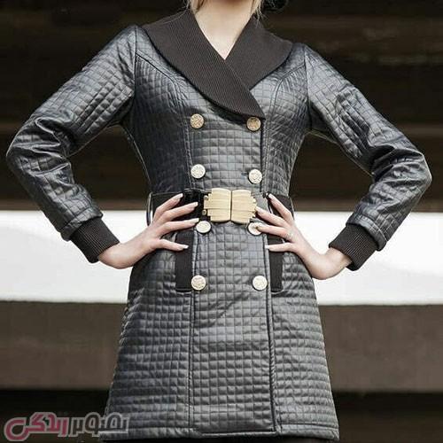 مدل پالتو جدید دخترانه کوتاه