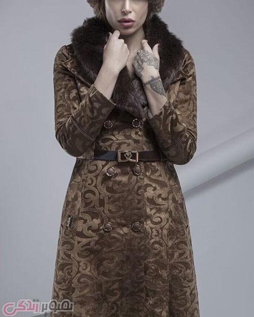 مدل پالتو جدید دخترانه مخمل